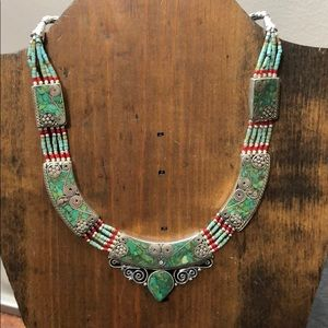 Stunning Handmade Necklace from Nepal